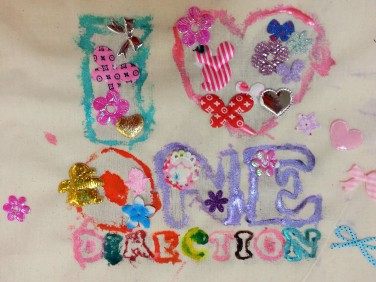 One Direction craft activity