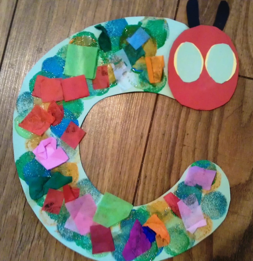 The Very Hungry Caterpillar theme crafts