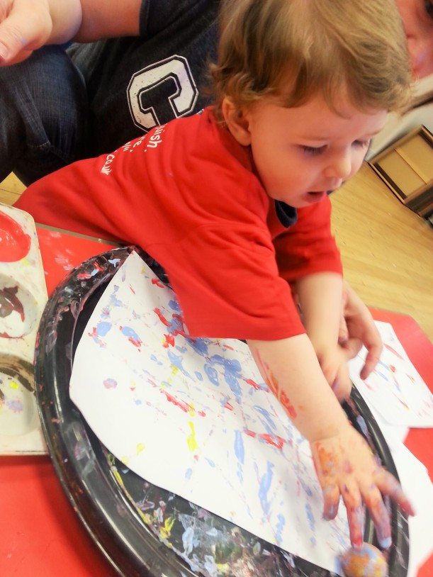 messy play class